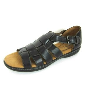 Natural Soul Naturalizer Black Fisherman Sandal 11